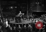 Image of Adolf Hitler addresses German factory workers Berlin Germany, 1933, second 9 stock footage video 65675043771