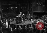 Image of Adolf Hitler addresses German factory workers Berlin Germany, 1933, second 10 stock footage video 65675043771