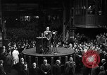 Image of Adolf Hitler addresses German factory workers Berlin Germany, 1933, second 11 stock footage video 65675043771
