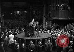 Image of Adolf Hitler addresses German factory workers Berlin Germany, 1933, second 12 stock footage video 65675043771