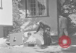 Image of Backyard fallout shelter United States USA, 1950, second 2 stock footage video 65675043805