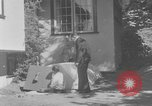 Image of Backyard fallout shelter United States USA, 1950, second 5 stock footage video 65675043805