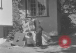 Image of Backyard fallout shelter United States USA, 1950, second 7 stock footage video 65675043805