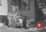 Image of Backyard fallout shelter United States USA, 1950, second 9 stock footage video 65675043805
