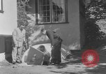 Image of Backyard fallout shelter United States USA, 1950, second 10 stock footage video 65675043805