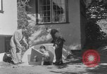 Image of Backyard fallout shelter United States USA, 1950, second 11 stock footage video 65675043805
