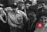 Image of French troops returning from Indochina Oahu Hawaii USA, 1954, second 2 stock footage video 65675043819