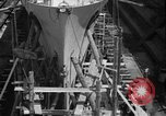 Image of Repairing damaged bow of Italian destroyer Ugolino Vivaldi Italy, 1940, second 9 stock footage video 65675043843