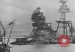 Image of attack on Pearl Harbor Hawaii USA, 1941, second 4 stock footage video 65675043848