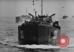 Image of convoy of Allied troop transports France, 1944, second 5 stock footage video 65675043858