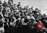 Image of convoy of Allied troop transports France, 1944, second 9 stock footage video 65675043858