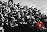 Image of convoy of Allied troop transports France, 1944, second 10 stock footage video 65675043858