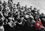 Image of convoy of Allied troop transports France, 1944, second 11 stock footage video 65675043858