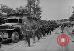 Image of German prisoners marched double time France, 1944, second 3 stock footage video 65675043862
