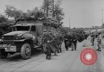 Image of German prisoners marched double time France, 1944, second 7 stock footage video 65675043862
