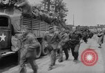 Image of German prisoners marched double time France, 1944, second 9 stock footage video 65675043862