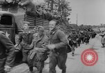 Image of German prisoners marched double time France, 1944, second 10 stock footage video 65675043862