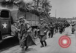 Image of German prisoners marched double time France, 1944, second 11 stock footage video 65675043862
