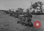 Image of German prisoners dig graves for American soldiers France, 1944, second 4 stock footage video 65675043863