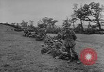 Image of German prisoners dig graves for American soldiers France, 1944, second 6 stock footage video 65675043863