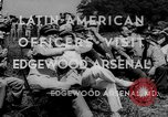 Image of Latin-American officers Edgewood Arsenal Maryland USA, 1942, second 2 stock footage video 65675043870