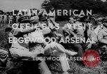 Image of Latin-American officers Edgewood Arsenal Maryland USA, 1942, second 3 stock footage video 65675043870