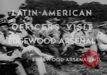 Image of Latin-American officers Edgewood Arsenal Maryland USA, 1942, second 4 stock footage video 65675043870