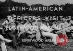 Image of Latin-American officers Edgewood Arsenal Maryland USA, 1942, second 6 stock footage video 65675043870