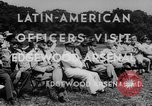 Image of Latin-American officers Edgewood Arsenal Maryland USA, 1942, second 7 stock footage video 65675043870