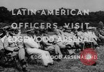 Image of Latin-American officers Edgewood Arsenal Maryland USA, 1942, second 8 stock footage video 65675043870