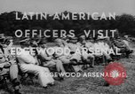 Image of Latin-American officers Edgewood Arsenal Maryland USA, 1942, second 9 stock footage video 65675043870