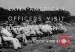 Image of Latin-American officers Edgewood Arsenal Maryland USA, 1942, second 10 stock footage video 65675043870