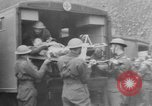Image of wounded British soldier on stretcher United Kingdom, 1940, second 2 stock footage video 65675043882
