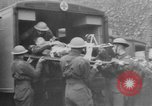 Image of wounded British soldier on stretcher United Kingdom, 1940, second 3 stock footage video 65675043882