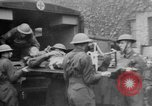 Image of wounded British soldier on stretcher United Kingdom, 1940, second 5 stock footage video 65675043882