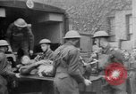 Image of wounded British soldier on stretcher United Kingdom, 1940, second 6 stock footage video 65675043882