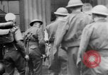 Image of wounded British soldier on stretcher United Kingdom, 1940, second 11 stock footage video 65675043882