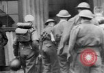 Image of wounded British soldier on stretcher United Kingdom, 1940, second 12 stock footage video 65675043882