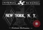 Image of United States soldiers New York United States USA, 1941, second 2 stock footage video 65675043890