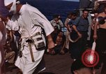 Image of King Neptune ceremony Pacific Ocean, 1947, second 11 stock footage video 65675043896