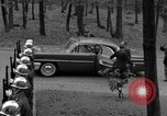 Image of Senator Harry F Byrd Germany, 1955, second 4 stock footage video 65675043916