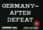 Image of Germany after defeat Germany, 1945, second 3 stock footage video 65675043950