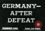 Image of Germany after defeat Germany, 1945, second 4 stock footage video 65675043950