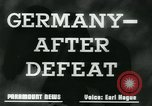 Image of Germany after defeat Germany, 1945, second 7 stock footage video 65675043950