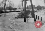 Image of Flooding in Arnhem during World War 2 Arnhem Netherlands, 1944, second 10 stock footage video 65675043980
