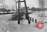 Image of Flooding in Arnhem during World War 2 Arnhem Netherlands, 1944, second 12 stock footage video 65675043980
