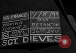 Image of 35th Infantry Division Besancon France, 1944, second 2 stock footage video 65675044008