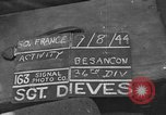 Image of 36th Infantry Division Besancon France, 1944, second 1 stock footage video 65675044009