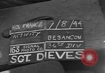 Image of 36th Infantry Division Besancon France, 1944, second 2 stock footage video 65675044009