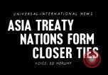 Image of Southeast Asian Treaty Organization Pakistan, 1950, second 4 stock footage video 65675044012